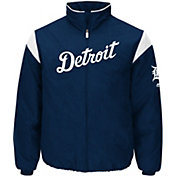 Majestic Men's Detroit Tigers Therma Base Navy On-Field Premier Jacket