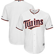 Majestic Men's Replica Minnesota Twins Cool Base Home White Jersey