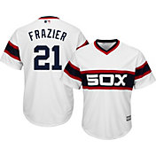 Majestic Men's Replica Chicago White Sox Todd Frazier #21 Cool Base Alternate White Jersey