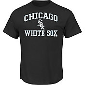 Majestic Men's Chicago White Sox Heart & Soul Black T-Shirt
