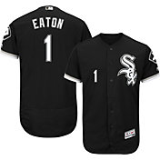Majestic Men's Authentic Chicago White Sox Adam Eaton #1 Alternate Black Flex Base On-Field Jersey