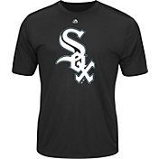Majestic Men's Chicago White Sox Cool Base Black Performance T-Shirt