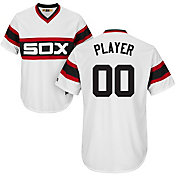 Majestic Men's Full Roster Cool Base Cooperstown Replica Chicago White Sox 1981-85 White Jersey