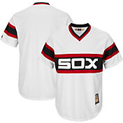 Majestic Men's Replica Chicago White Sox Cool Base White Cooperstown Jersey
