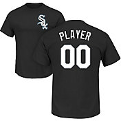 Majestic Men's Full Roster Chicago White Sox Black T-Shirt