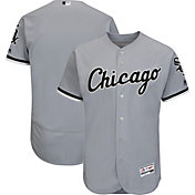 Majestic Men's Authentic Chicago White Sox Road Grey Flex Base On-Field Jersey