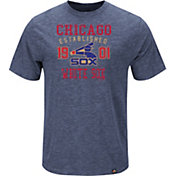 Majestic Men's Chicago White Sox Cooperstown Navy T-Shirt