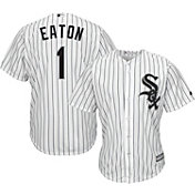 Majestic Men's Replica Chicago White Sox Adam Eaton #1 Cool Base Home White Jersey