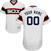 Majestic Men's Custom Authentic Chicago White Sox Flex Base Alternate White On-Field Jersey