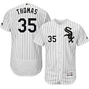 Majestic Men's Authentic Chicago White Sox Frank Thomas #35 Home White Flex Base On-Field Jersey
