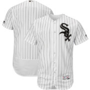 Majestic Men's Authentic Chicago White Sox Home White Flex Base On-Field Jersey