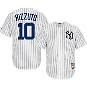 Majestic Men's Replica New York Yankees Phil Rizzuto Cool Base White Cooperstown Jersey