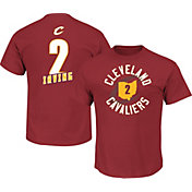 Majestic Men's Cleveland Cavaliers Kyrie Irving #2 Burgundy T-Shirt
