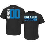 Majestic Men's Orlando Magic Aaron Gordon #00 Black T-Shirt