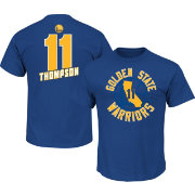 Majestic Men's Golden State Warriors Klay Thompson #11 Royal T-Shirt