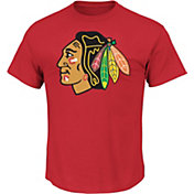 Majestic Men's Chicago Blackhawks Tek Patch T-Shirt