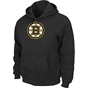 Majestic Men's Boston Bruins Tek Patch Black Hoodie