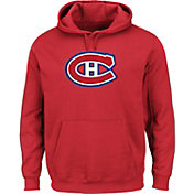 Majestic Men's Montreal Canadiens Tek Patch Red Hoodie