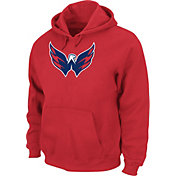Majestic Men's Washington Capitals Tek Patch Red Hoodie