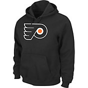 Majestic Men's Philadelphia Flyers Tek Patch Black Hoodie
