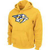 Majestic Men's Nashville Predators Tek Patch Gold Hoodie