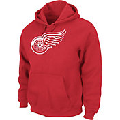 Majestic Men's Detroit Red Wings Tek Patch Red Hoodie