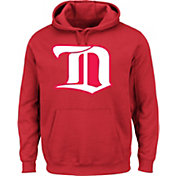 Majestic Men's Detroit Red Wings Vintage Tek Patch Red Hoodie