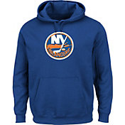 Majestic Men's New York Islanders Tek Patch Royal Hoodie