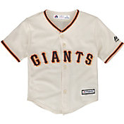 Majestic Toddler Replica San Francisco Giants Cool Base Home White Jersey