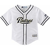 Majestic Toddler Replica San Diego Padres Cool Base Home White Jersey