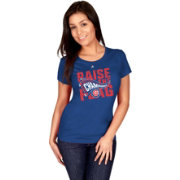 Majestic Women's 2016 NL Champions Locker Room Chicago Cubs Royal T-Shirt