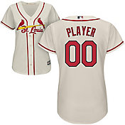Majestic Women's Full Roster Cool Base Replica St. Louis Cardinals Alternate Ivory Jersey