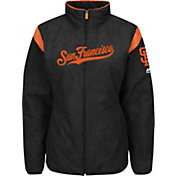 Majestic Women's San Francisco Giants Therma Base Black On-Field Premier Jacket