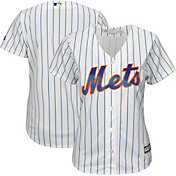 Majestic Women's Replica New York Mets Cool Base Home White Jersey