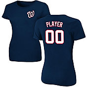 Majestic Women's Full Roster Washington Nationals Navy T-Shirt