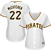 Majestic Women's Replica Pittsburgh Pirates Andrew McCutchen #22 Cool Base Home White Jersey