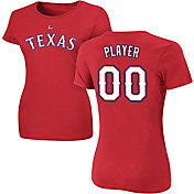 Majestic Women's Full Roster Texas Rangers Red T-Shirt