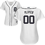 Majestic Women's Full Roster Cool Base Replica Detroit Tigers Home White Jersey