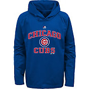 Majestic Youth Chicago Cubs Royal Fleece Hoodie