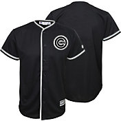 Majestic Youth Replica Chicago Cubs Black Jersey