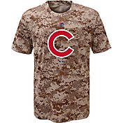 Majestic Youth Chicago Cubs Cool Base Digi Camo T-Shirt