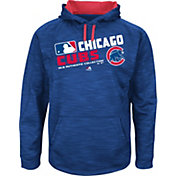 Majestic Youth Chicago Cubs On-Field Royal Authentic Collection Pullover Hoodie