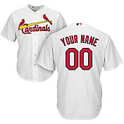 Majestic Youth Custom Cool Base Replica St. Louis Cardinals Home White Jersey