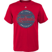 Majestic Youth St. Louis Cardinals Electric Baseball Red T-Shirt