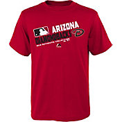 Majestic Toddler Arizona Diamondbacks Authentic Collection Red T-Shirt