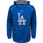 Majestic Youth Los Angeles Dodgers Royal Paramount Pullover Hoodie