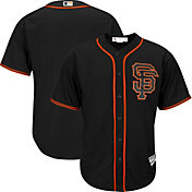 Majestic Youth Replica San Francisco Giants Cool Base Alternate Black Jersey