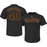 Majestic Youth San Francisco Giants Madison Bumgarner #40 Black T-Shirt