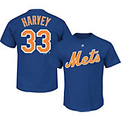 Majestic Youth New York Mets Matt Harvey #33 Royal T-Shirt