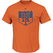 Majestic Youth New York Mets Going Home Orange T-Shirt